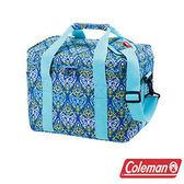 Coleman 15L 藍葉圖騰保冷袋 CM-22226