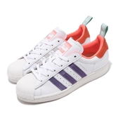 adidas 休閒鞋 Superstar Girls Are Awesome 白 紫 女鞋 運動鞋 聯名 【PUMP306】 FW8087