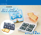 日本白色戀人(12枚入)餅乾禮盒