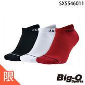 NIKE 耐吉JORDAN JUMPMAN 基本款3包裝襪 SX5546011