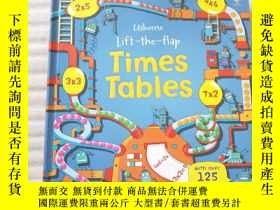 二手書博民逛書店Lift罕見the Flap Times Tables Book (Usborne Lift-the-Flap-B