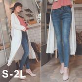 MUMU【P37758】台灣女孩專屬激瘦刷色彈性牛仔褲。S-2L