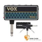 【隨身前級效果器】【VOX amPlug2】【日本製造】 【Bass專用/加贈輸出轉接頭】