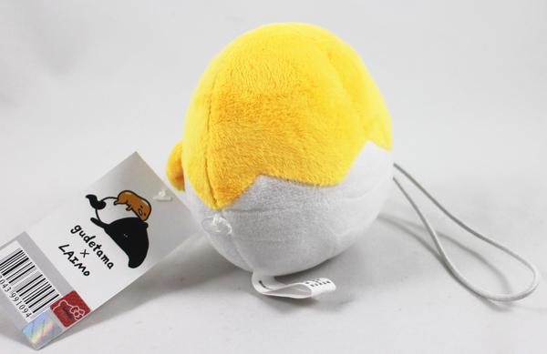 【卡漫城】 蛋黃哥 造型 窗簾釦 高 11.5CM ㊣版 門簾釦 鈕釦式 絨毛娃娃 玩偶 裝飾 Gudetama Egg