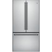 【得意家電】美國 GE 奇異 GNE25JSSS 不鏽鋼法式三門冰箱(715L) ※熱線07-7428010