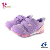 Moonstar月星寶寶鞋 學步鞋 女嬰兒鞋 小童運動鞋 寬楦日本機能鞋 J9647#紫色◆OSOME奧森鞋業
