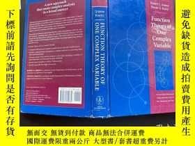 二手書博民逛書店Function罕見Theory of one Complex VariableY171500 看圖 看圖