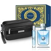 Versace 凡賽斯 經典男性淡香水墨藍珍藏聖誕禮盒-原廠公司貨【ZZshopping購物網】