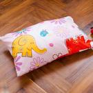 枕頭 兒童枕-防蹣抗菌纖維枕/精梳棉/心心象印/美國棉授權品牌[鴻宇]台灣製1851