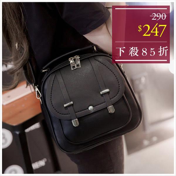 後背包-個性穿帶造型三用後背包-單1款-A12121312-天藍小舖