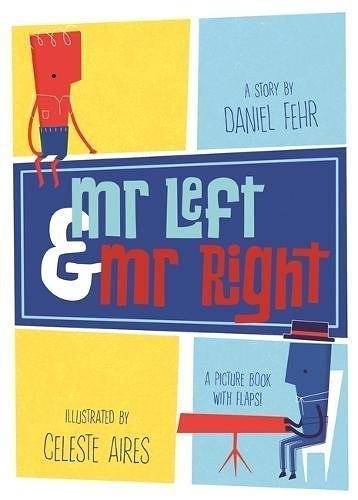 【部落客推薦書目】MR LEFT AND MR RIGHT/精裝書 《主題:想像.分享》