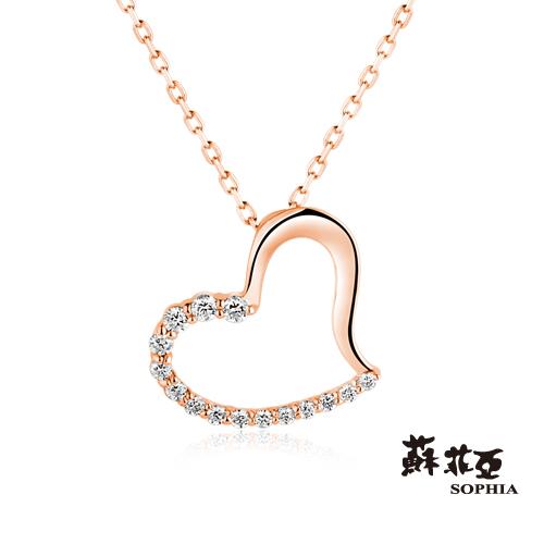 蘇菲亞SOPHIA - 戴瑞莎9K玫瑰金項鍊