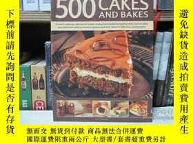 二手書博民逛書店500罕見Cakes and BakesY22565 不祥 不祥