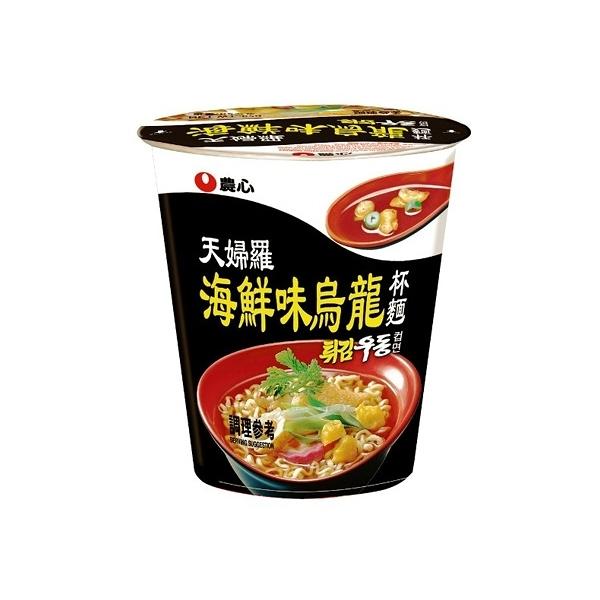 韓國 農心 天婦羅海鮮味烏龍杯麵(62g) 【小三美日】進口/泡麵/團購