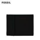 FOSSIL Ness 真皮隨身拉鍊零錢袋皮夾-黑色 ML4171001