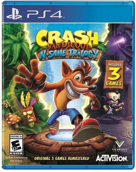 現貨 PS4 袋狼大進擊 瘋狂三部曲 英文版