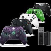 Microsoft/微軟Xbox One S游戲手柄 無線控制器 PC無線適配器2代 小宅女