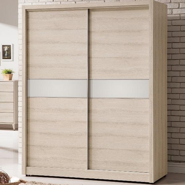 衣櫃 衣櫥 QW-008-4 艾瑪5尺推門衣櫃【大眾家居舘】