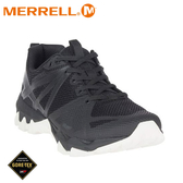 【MERRELL 美國 女 MQM FLEX GORE-TEX多功能健行鞋《黑》】ML99866/健走鞋/運動鞋/防水鞋/健行鞋