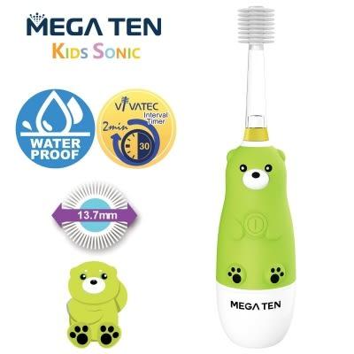 Mega Ten幼童電動牙刷-熊