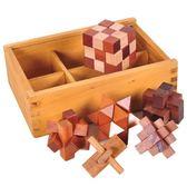 兒童 成人學生木制 益智教具解鎖拆裝