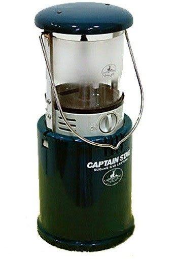 【山水網路商城】日本 鹿牌Captain Stag 螺牙式瓦斯營燈-綠 M-6302