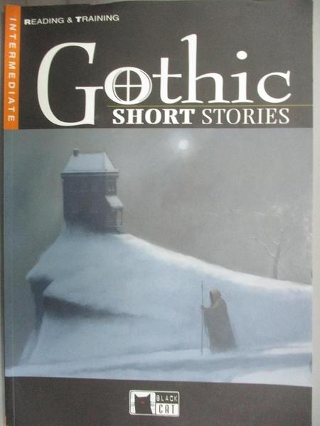 【書寶二手書T9/原文小說_IHU】Gothic short stories_Amelia Jacobs