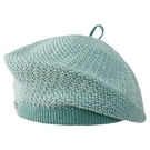 【ISW】細針針織貝雷帽- 蒂芙尼綠 (兩色可選) 造型帽