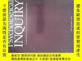 二手書博民逛書店psychological罕見inquiry 2017年1-3月 心理 Y14610