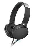 平廣 送袋繞公司貨保1年 SONY MDR-XB550AP 黑色 耳機 單鍵手機用 耳罩式耳機