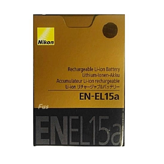 【福笙】Nikon EN-EL15a 全新版  原廠盒裝鋰電池 D7500 D7200 D7100 D7000 D750 D610 D800 D810 850 V1 V2