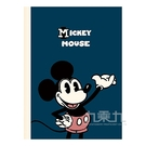 迪士尼16K厚版橫線固頁筆記本-打招呼(鋼筆適用)