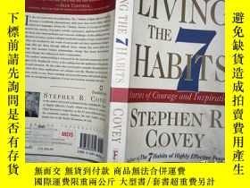 二手書博民逛書店Living罕見the 7 Habits: The Courag