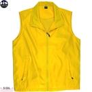 黃色背心 黃背心 透氣網裡背心 素面 防潑水 防風 防寒 現貨