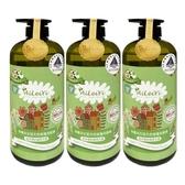 【南紡購物中心】AiLeiYi洋甘菊修護洗髮精-城市裡的蘋果花園1000ml(3瓶/組)