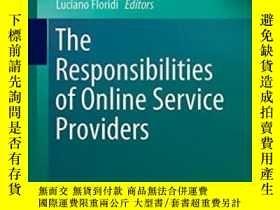 二手書博民逛書店The罕見Responsibilities Of Online