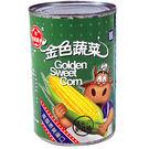 牛頭牌金色蔬菜玉米醬418g*3入【愛買...