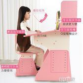 兒童書桌椅 兒童學習桌學生寫字桌椅套裝書桌書柜組合男孩女孩課桌家用升降【全館九折】
