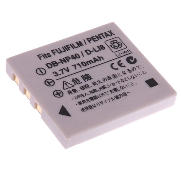 Kamera for Samsung SLB-0737 (DB-NP40/D-LI8) 高品質鋰電池Digimax L50,Digimax i5保固1年 DLI8