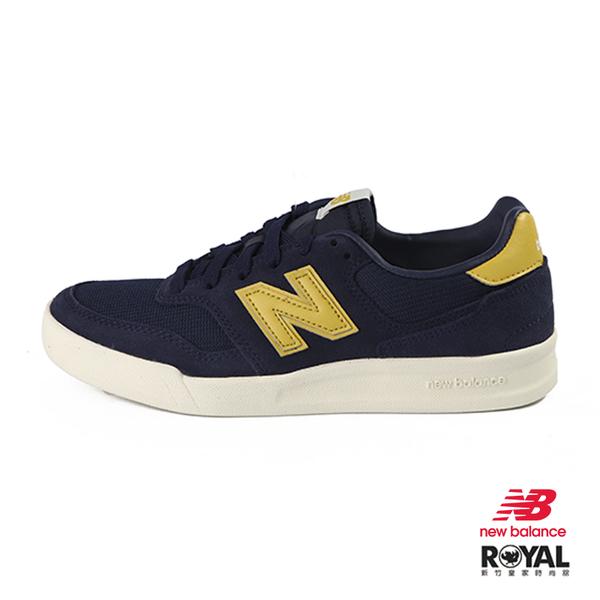 New balance 300 藍色 麂皮 運動休閒鞋 男女款 NO.B0950【新竹皇家 CRT300YV】