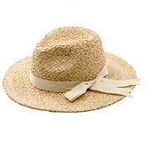 草帽-蝴蝶結裝飾手編禮帽女爵士帽73zr116[巴黎精品]