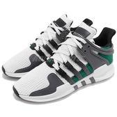 adidas 復古慢跑鞋 EQT Racing ADV W Equipment 白 綠 運動鞋 全新鞋款 女鞋【PUMP306】 CQ2250
