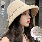 字母拼接漁夫帽(2色)【995183W】【現+預】-流行前線-