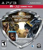PS3 Mortal Kombat vs DC Universe - Silver Shield Combo Pack 真人快打 vs DC漫畫英雄 銀色廉價版(美版代購)