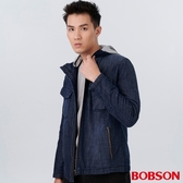 BOBSON 男款牛仔鋪棉外套(38039-53)