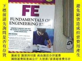 二手書博民逛書店FE罕見FUND AMENTALS OF ENGLIEERING EXAM 工程考試經費Y261116
