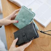 女士錢包女短款新款韓版多功能錢夾手拿包