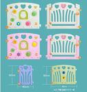 麻麻乖寶貝安全圍欄 遊戲圍欄 嬰兒護欄 寶寶柵欄 護欄 愛心門欄