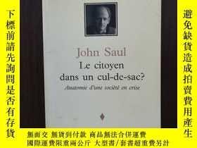 二手書博民逛書店Citoyen罕見Dans Un Cul De Sac【法文原版】Y12800 n a Fides ISBN: