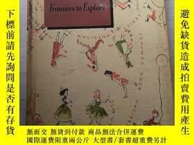 二手書博民逛書店Frontiers罕見to Explore GOLDIN RULE SERIES 探索戈爾丁規則系列的前沿Y3